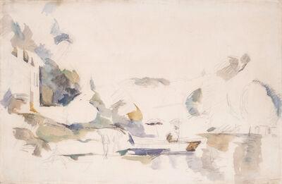 Paul Cézanne, 'La Barque, Le Lac D'Annecy', 1896