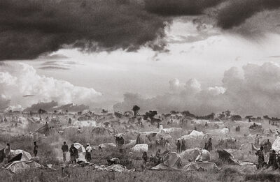Sebastião Salgado, 'The first day of installation of the camp of Benako for the Rwandan Tutsi and Hutu refugees, Tanzania', 1994-printed later