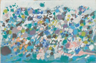 Manuel Cargaleiro, 'Untitled', 1963