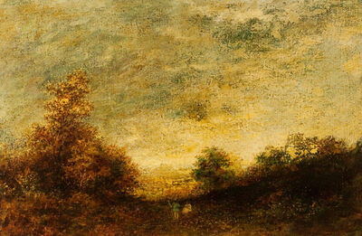 Ralph Albert Blakelock, 'Morning Glory', Late 19th century