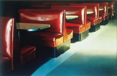 John Register, 'Red Booths', 1986