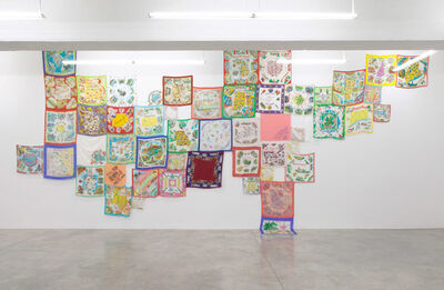 Jonathan Monk, 'From One State To Another (Sewn Together To Make A Whole)', 2014