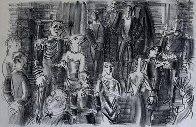 Raoul Dufy, 'The Admiral's Ball | Le Bal chez l'amiral', 1925