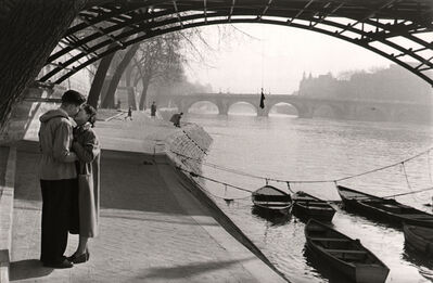 Marc Riboud, 'Lovers of the Pont Des Arts, Paris.', 1953
