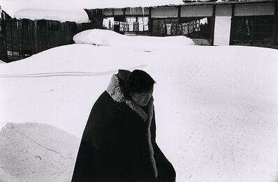 Kiichi Asano, 'Untitled - Woman In Snow', c1958