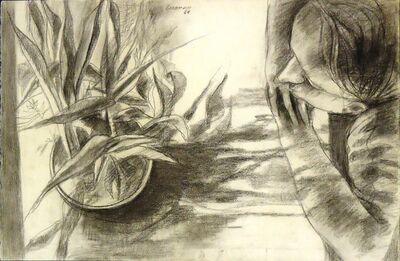 Sidney Goodman, 'Figure and Plant', 1960