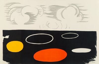 Alexander Calder, 'Clouds and Discs'