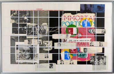 R. B. Kitaj, 'Immortal portraits', ca. 1977