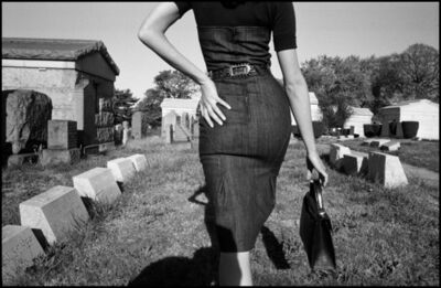 Bruce Gilden, 'Fashion shoot. Mafia funeral. Queens, New York. USA.', 2005