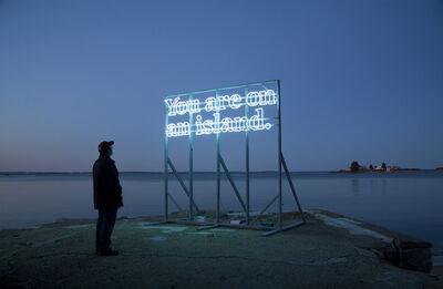 Alicia Eggert, 'You Are (on) An Island 2011'