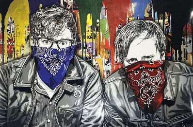 Mr. Brainwash, ''The Black Keys LA' (Hand-Signed)', 2012
