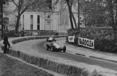 Jesse Alexander, 'Maserati, Grand Prix of Pau', 1955