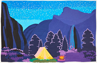 Daniel Heidkamp, 'Roaring Fire Night Camp', 2020
