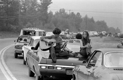 Baron Wolman, 'Woodstock 1969 Guitar Traffic', 1969
