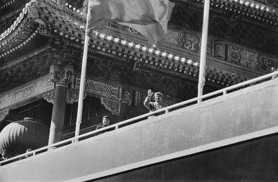 Henri Cartier-Bresson, 'Arrival of President Mao Zedong, Peking, China', 1958/1958c