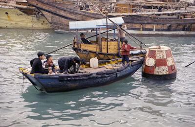 Sultan Ismail Nasiruddin Shah, 'Hong Kong water taxi', 1971