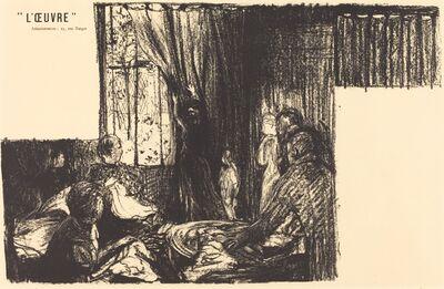 Édouard Vuillard, 'Les Soutiens de la société', 1896