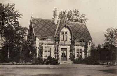 Charles Marville, 'Maison de Gardes, Bois de Boulogne', 1858/1858