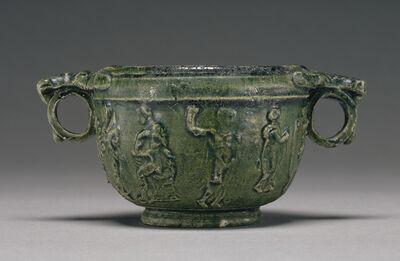 'Lead-Glazed Skyphos',  50 B.C. -A.D. 50