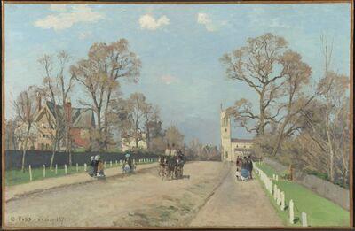 Camille Pissarro, 'The Avenue, Sydenham', 1871