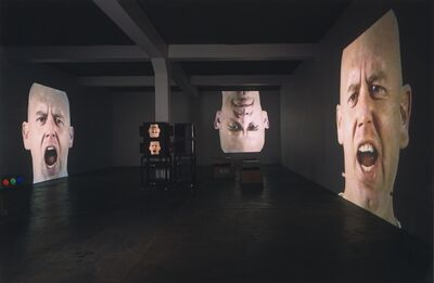 Bruce Nauman, 'Anthro/Socio (Rinde Facing Camera)', 1991