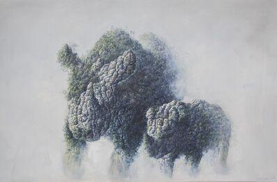 Rubén Fuentes, 'Western Rhinoceros Tribute (Extinct in 2006)', 2017