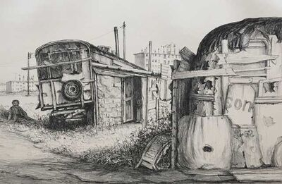 Jürg Kreienbühl, 'La roulotte d'Ammrioui', 1977