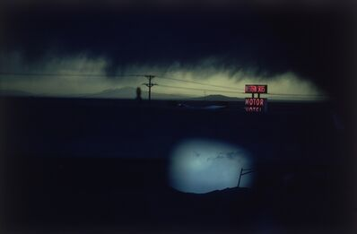 Ernst Haas, ' Western Skies Motel. Colorado', 1978
