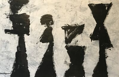 Harry Bertschmann, 'Ab-Ex Shapes Series No. 25', ca. 2000