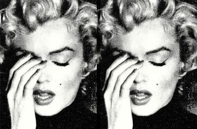 Russell Young, 'Marilyn Crying Diptych', 2021