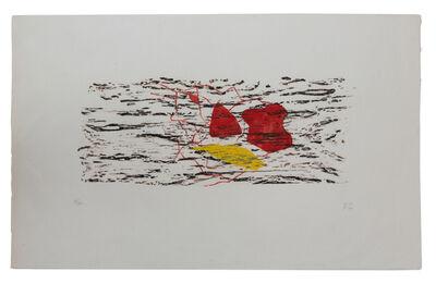 Méret Oppenheim, 'Schmetterlingsspiel über dem Wasser', 1966