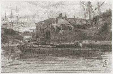 James Abbott McNeill Whistler, 'Limehouse', 1878