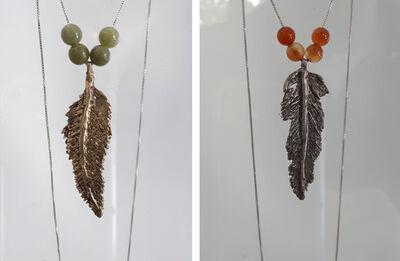 Stephan Bircher, 'FEATHER - necklace', 2019
