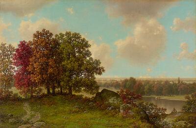 William Mason Brown, 'Autumn Landscape'