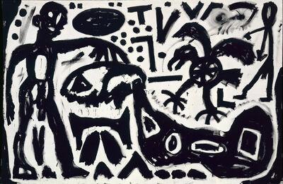 """A.R. Penck, '""""Skizze""""', 1983"""