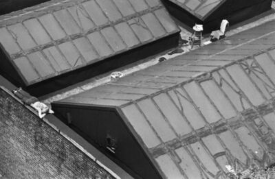 André Kertész, 'New York Painter on Roof', 1977