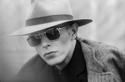 Terry O'Neill, 'David Bowie with Hat & Sunglasses', ca. 1975