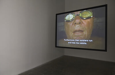"""Chris Burden, 'The Rant. Installation view, """"Chris Burden: Extreme Measures"""" at New Museum, New York, 2013', 2006"""