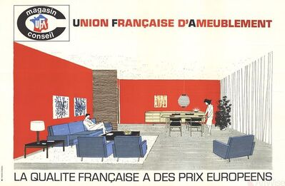 Havas Conseil, 'Union Francaise d'Ameublement', (Date unknown)
