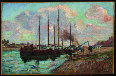 Jean Baptiste Armand Guillaumin, 'The Quai d'Austerlitz', about 1877