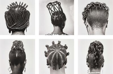 J.D. 'Okhai Ojeikere, 'Hairstyles', 1968-1975