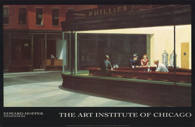 Edward Hopper, 'Nighthawks', 1991