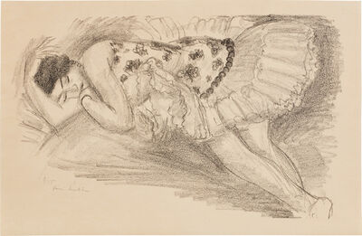 Henri Matisse, 'Danseuse endormie au divan (Sleeping Ballerina), from Dix Danseuses (Ten Dancers) (D. 485)', 1927