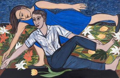 Eileen Cooper, 'Blue Duet', 2016