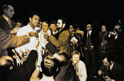 Garry Winogrand, 'Muhammad Ali and Oscar Bonavena Press Conference, New York City', 1970
