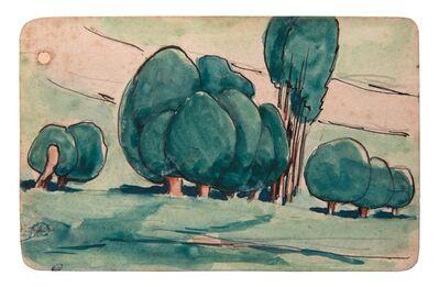 Julio González, 'Les saules (The Willow Trees)', ca. 1927