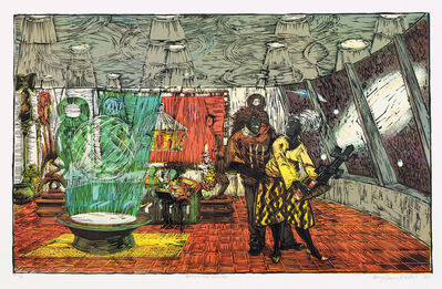 Kerry James Marshall, 'Keeping the Culture', 2010
