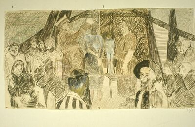 Barbara Feldberg, 'Study for Night', 1989