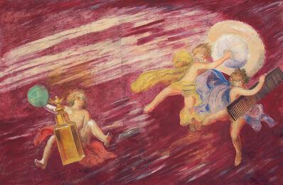 Leonetto Cappiello, 'Heavenly Fragrances : Maquette. ', 1920