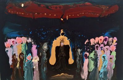 Genieve Figgis, 'Golden throne'